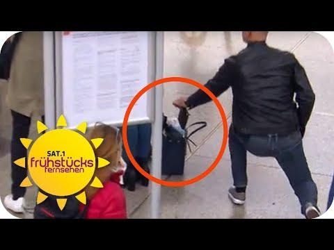 Das sind die Tricks der Profi-Diebe am Hauptbahnhof | SAT.1 Frühstücksfernsehen | TV