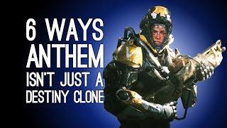 Anthem Gameplay: 6 Ways it's Not a Destiny Clone