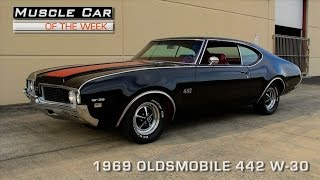 Muscle Car Of The Week Video #98: 1969 Oldsmobile 442 W-30