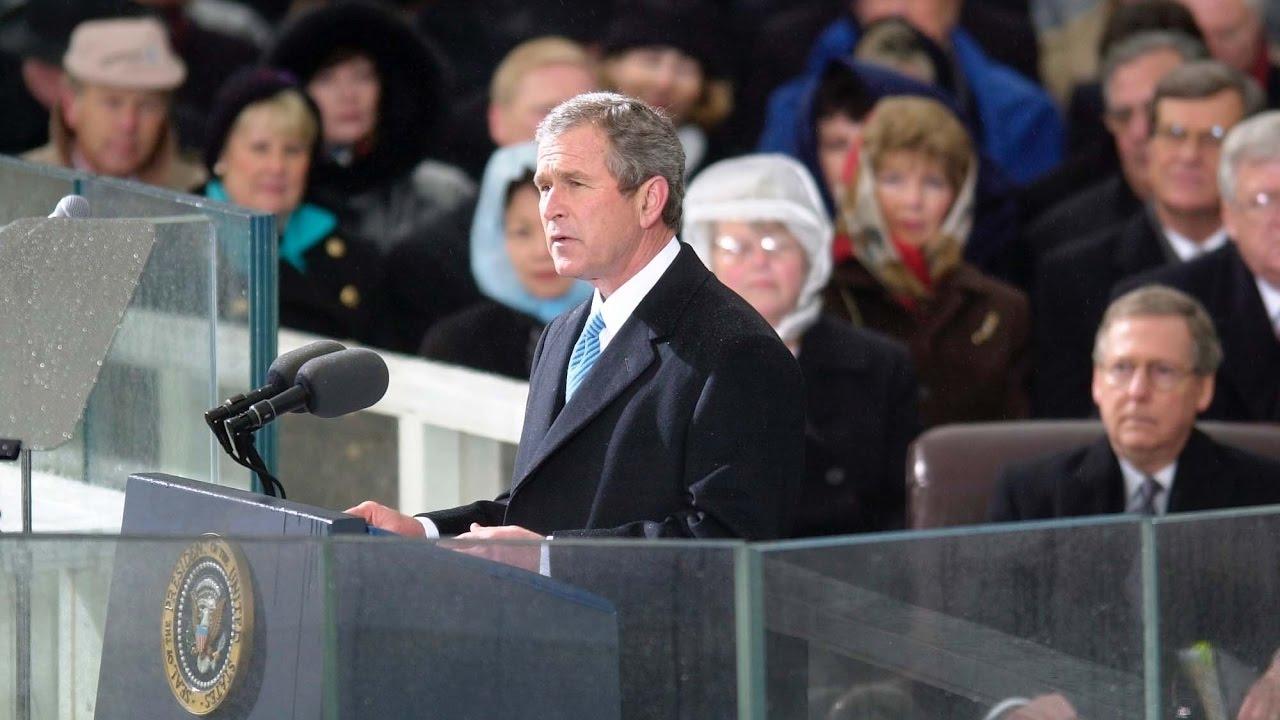 George W. Bush's First Inaugural Address 2001 - YouTube
