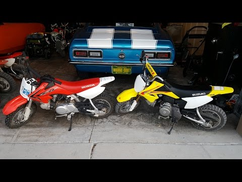 Is the Honda CRF50 the only option? No! Suzuki DRZ 70 Review and Comparison.