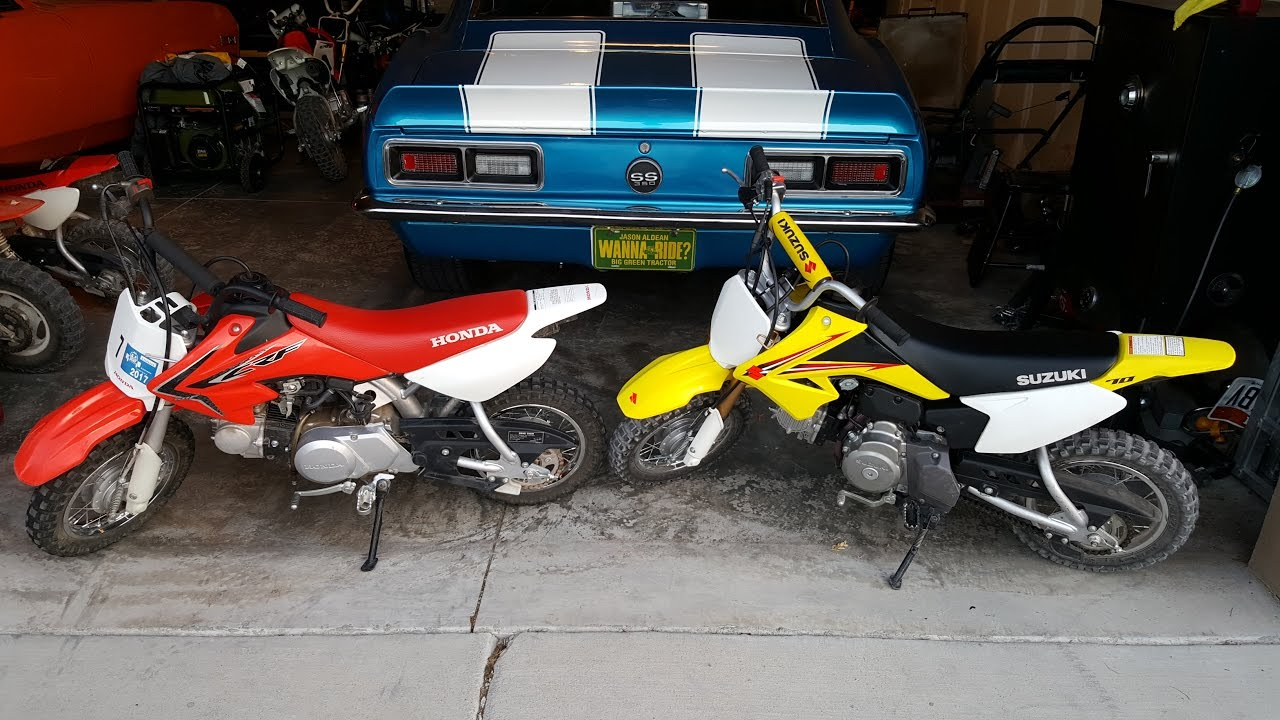 Is The Honda Crf50 The Only Option No Suzuki Drz 70 Review And
