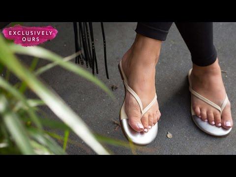 Walking on air: pillow-soft flip flops
