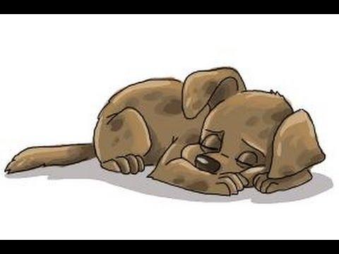 Sleeping Dog Cartoon Pictures