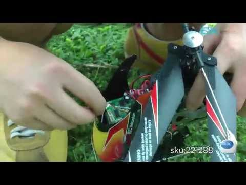 DX: WLtoys V912 4-CH 2.4GHz Radio Control Single Propeller R/C Helicopter