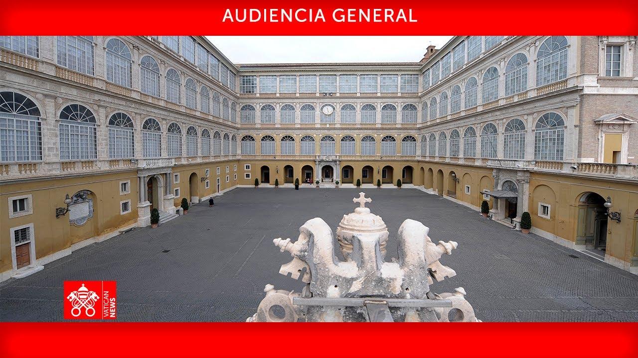 Audiencia General 12 de mayo de 2021 Papa Francisco