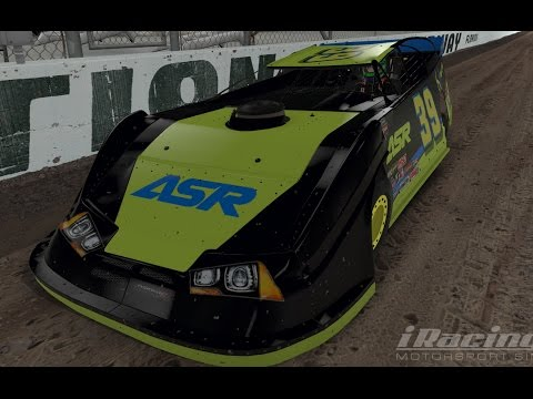 iRacing Dirt Super Late Model Test session @ Williams Grove Speedway