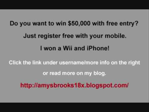 Free Prize Draw Competition - Win $50,000 and Other Prizes!