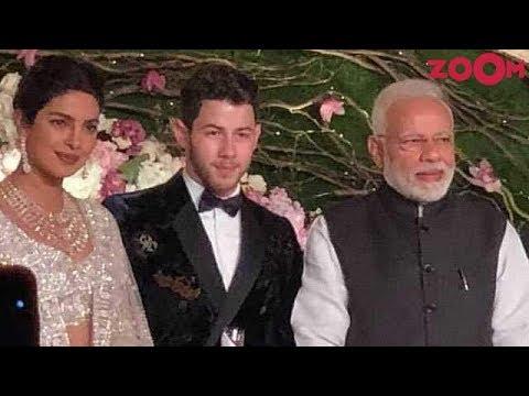 PM Narendra Modi attends Priyanka Chopra & Nick Jonas Wedding reception in Delhi
