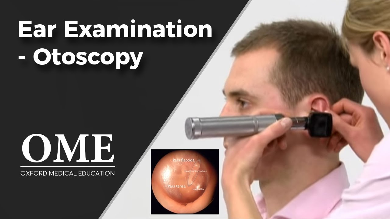 Otoscopy (Ear Examination) - ENT - YouTube