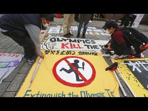 شاهد: يابانيون يتظاهرون ضد إقامة أولمبياد طوكيو هذا الصيف…  - نشر قبل 5 ساعة