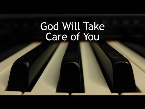 God Will Take Care of You - piano instrumental hymn with lyrics
