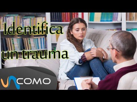 Identifica y supera un trauma psicológico