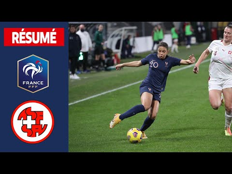 France-Suisse Féminines, 2-0 : buts et occasions I FFF 2021