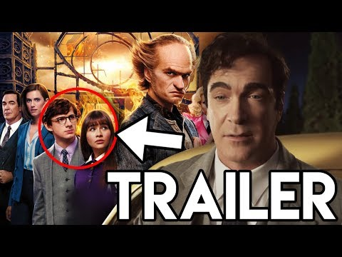 A Series of Unfortunate Events Season 3 Trailer - Lemony MEETS The Baudelaires Explained