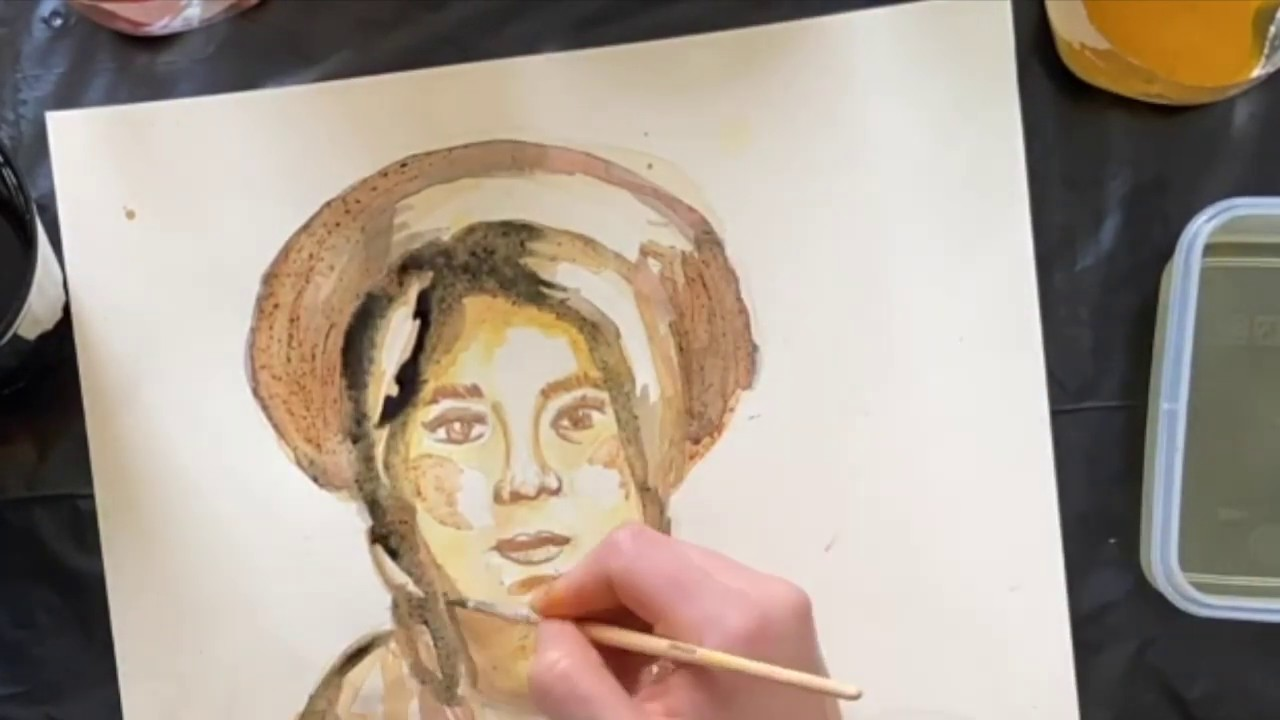 MYP - Distance Learning - Painting with home-based pigments