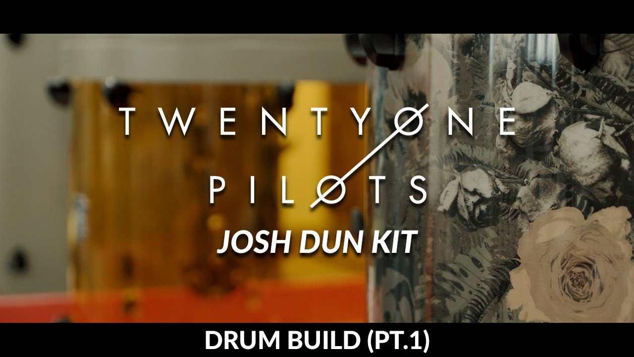 Josh Dun - Twenty One Pilots – SJC Custom Drums