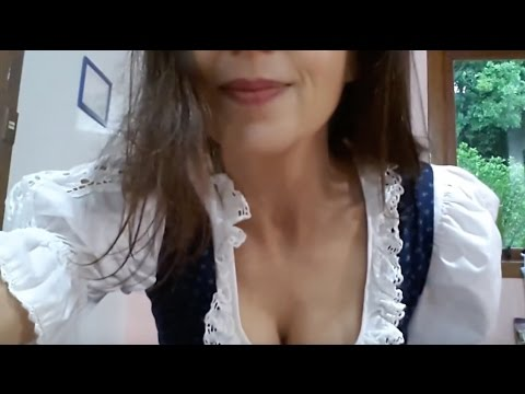 dirndl apron how to tie it bedeutung der schleife youtube. Black Bedroom Furniture Sets. Home Design Ideas