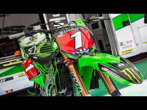 Up Close With Eli Tomac's Monster Energy Kawasaki KX450F