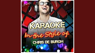 The Ecstasy of Flight (I Love the Night) (In the Style of Chris De Burgh) (Karaoke Version)
