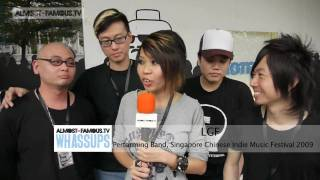 "almost-famous.tv ""Whassups"" 281109 - Singapore Chinese Indie Music Festival"