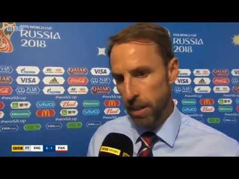 Gareth Southgate Post Game Interview England vs Panama 6 1 WorldCup 2018