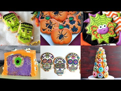 AMAZING HALLOWEEN COOKIE AND CAKE IDEAS