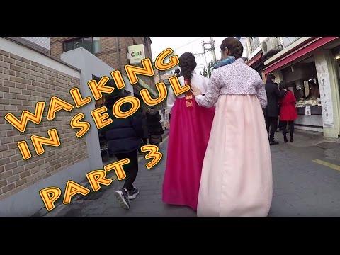 Walking in Seoul City (South Korea) Part3
