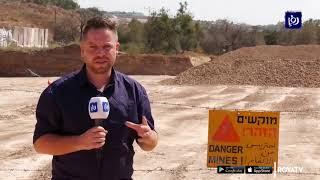 عمليات إزالة ألغام قرب جنين - (18-10-2019)