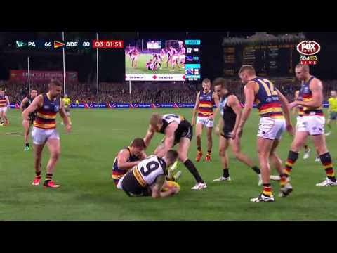 Round 22 AFL Highlights - Port Adelaide v Adelaide