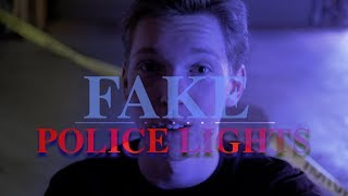 Fake Police Lights in POST! *EASY and FREE (Premiere, FCPX, etc)