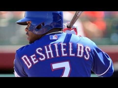 Delino DeShields 2015 Rookie Highlights HD