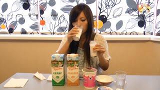 Японка Мики Пробует Кефир, Ряженку и Другие Молочные Продукты