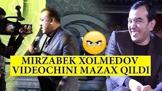 Mirzabek Xolmedov videochini mazax qildi