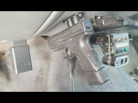 Mounting your gun with magnets? Tac-mag vehicle mount