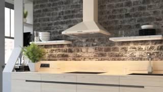Кухонна витяжка ELEYUS KVINTA - відео огляд купольної витяжки