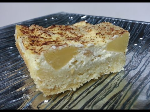 HOW TO MAKE SOUR CREAM AND APPLE SLICE