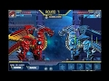 Robot Ice Dragon VS Robot Fire Dragon - Game Show - Game Play - 2015 - HD