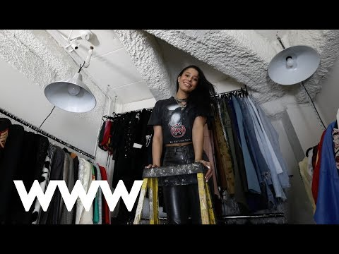 Step Inside This Vintage Designer's Unbelievable Closet | Who What Wear
