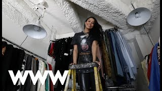 Step Inside This Vintage Designers Unbelievable Closet | Who What Wear