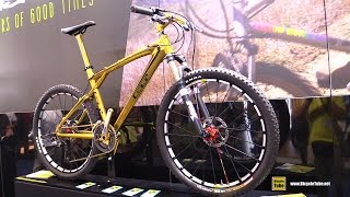 2009 GT Bicycles Zaskar Golden Mountain Bike 10 of 20 - Walkaround - 2015 Eurobike