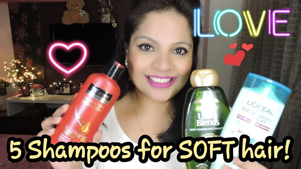 5 BEST SHAMPOOS FOR SOFT, SMOOTH & SILKY HAIR IN INDIA!