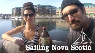 Boat Hits Dock! & Trawler Tour [ Episode 9- Sailing Nova Scotia]