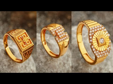 Latest Gold Ring Designs 2018 Gold Finger Rings For Women Youtube