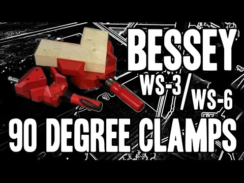 Bessey 90 Degree Angle Clamps - WS-6 / WS-3 / WS-3+2K