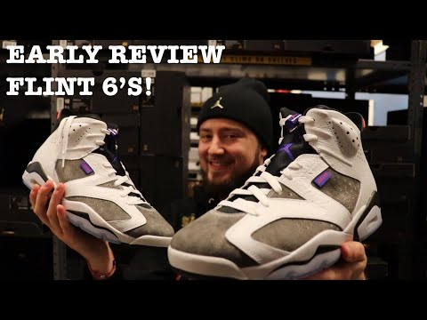 "COP OR DROP? EARLY REVIEW OF THE AIR JORDAN RETRO 6 ""FLINT"""