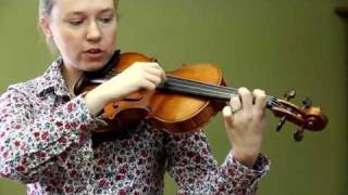 Strings for Kids: Lesson 4 How to Play Hot Cross Buns