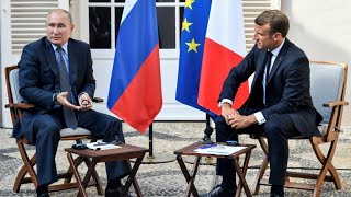 Macron urges Putin to back a Ukraine leaders' summit over coming weeks at French talks