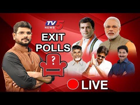 TV5 Exit Polls Survey LIVE | AP Exit Polls 2019 | TV5 Murthy Live | TV5 News