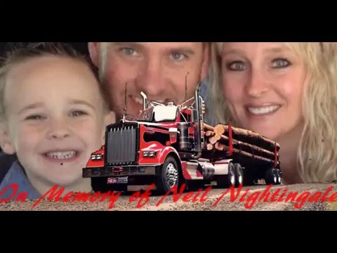 In Memory of Neil Nightingale - Red Sovine Truck Drivers Prayer